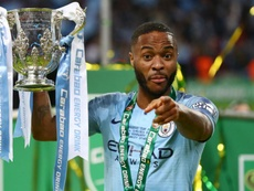 Sterling's spot-kick sealed it for City in EFL Cup Final. GOAL