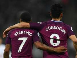 Gundogan is full of admiration for Sterling. GOAL