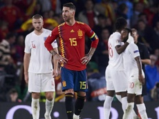 Ramos after Spain's first loss at home to England since 1987. GOAL