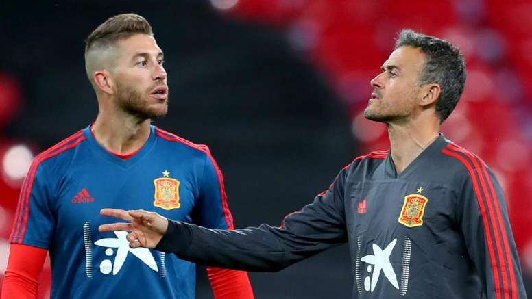 Luis Enrique has been forced to step down as Spain boss. GOAL