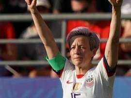 Megan Rapinoe has previously against police brutality and racial inequality in the US. GOAL