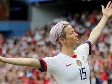 Rapinoe was crowned best player. GOAL