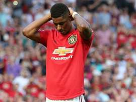 Marcus Rashford at a loss with racism abuse online. GOAL