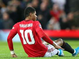 Solskjaer confirms stress fracture for Rashford. GOAL