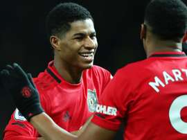 Only two players made 200 Man Utd appearances faster than Marcus Rashford. GOAL