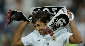 Raul left Real 16 years ago. GOAL
