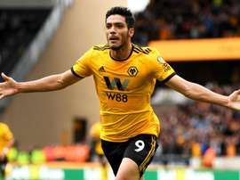 Raul Jimenez has led Wolves to an FA Cup semi-final and a possible Europa League place. GOAL