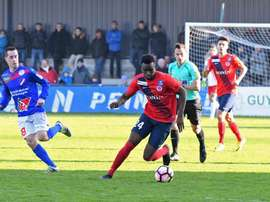 L'ancien Lensois Razak Boukari retrouve les Sang et Or ce lundi avec Châteauroux. Goal