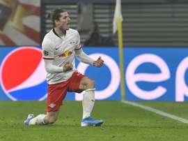 Sabitzer, do RB Leipzig, acerta golaço em belo chute; veja. Goal