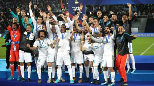 Real Madrid have won three consecutive Club World Cups. GOAL