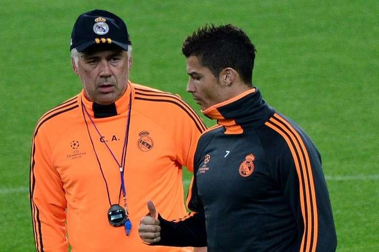CR7 na Juve? Ancelotti dá conselho ao craque.Goal
