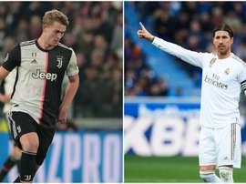 Juventus, Sergio Ramos consiglia il Real Madrid: 'De Ligt è il difensore del futuro'