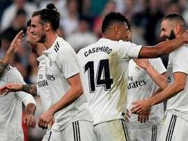 Terza vittoria per il Real Madrid. Goal
