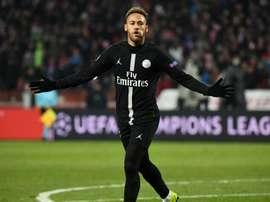 PSG Champions League. Goal