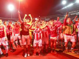 Red Star have won their 28th Serbian title. GOAL