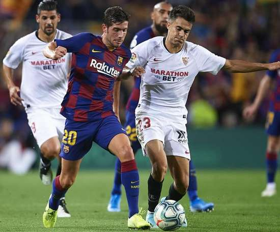 Reguilon (R) says he did not decide to move to Sevilla on loan. GOAL