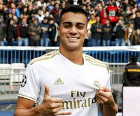 He was presented by Real Madrid. GOAL