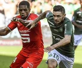 Remy Cabella et Ludovic Baal, Saint-Etienne-Rennes, Ligue 1. GOAL