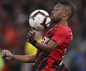 Renan Lodi has moved to Atletico Madrid from Athletico Paranaense. GOAL