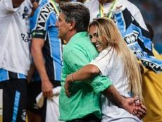 Filha de Renato Gaúcho diz que foi 'agredida por torcedores do Flamengo'. GOAL