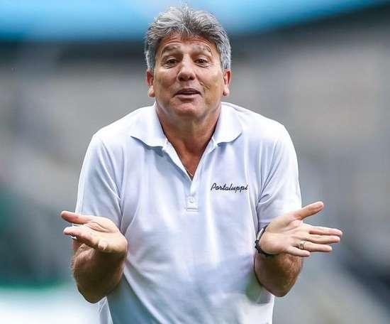 Renato Gaúcho no Grêmio: títulos e recordes de Portaluppi como técnico do Tricolor. AFP