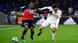 Lyon-Lille 0-1, les Gones se font croquer par les Dogues. AFP