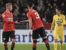 Pour battre le PSG, Rennes s'était inspiré de Manchester. GOAL