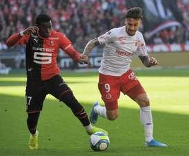 Rennes-Reims (0-1) - Douché par Reims, Rennes n'y arrive plus. AFP