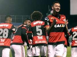 Palestino 2 x 5 Flamengo: Equipes acordam no segundo tempo e o Flamengo conquista uma boa vantagem