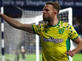Rhodes was on target for Norwich. GOAL