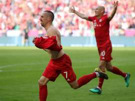 Franck Ribery and Arjen Robben together. GOAL