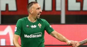 Fiorentina, Ribéry est 'jeune' sur le terrain