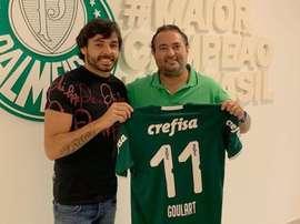 Ricardo Goulart agradece esforço palmeirense