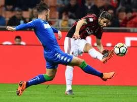 Milan voit la C1 filer. Goal