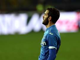 Riccardo Saponara in action with Empoli. Goal