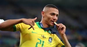Richarlison, héros d'Everton et du Brésil, revient sur une année mémorable. Goal