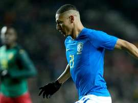 Richarlison Brazil Cameroon Friendly. Goal