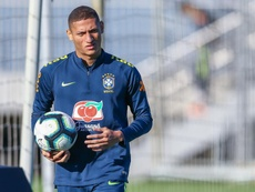 Richarlison won't feature for Brazil against Paraguay tonight. GOAL
