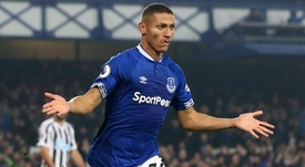 Deeney jokingly suggested former team-mate Richarlison can expect some rough treatment. GOAL