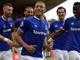 Richarlison Everton Wolves Premier League. Goal