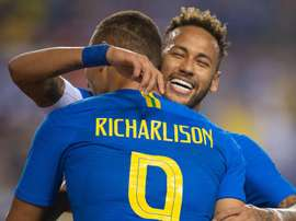 Richarlison Neymar Brazil El Salvador Friendly. Goal