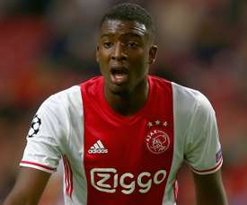 Riechedly Bazoer will leave Ajax in January. Goal