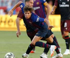 Riqui Puig has recieved backing from a Barca legend. GOAL