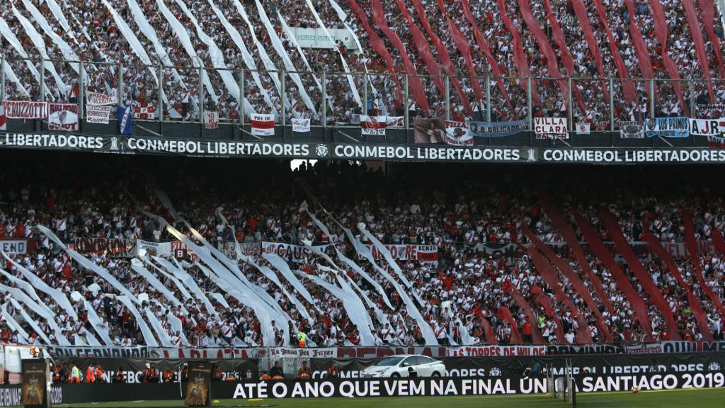 El Monumental will not host the return leg. GOAL