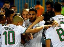 L'Algérie s'impose face à la Guinée. Goal