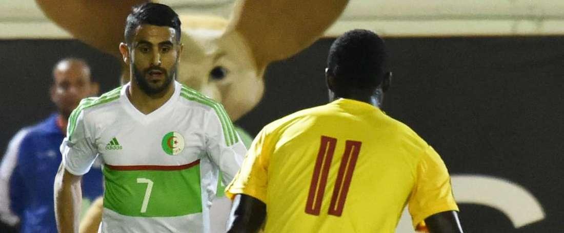 C'est fait pour l'Algérie. Goal