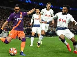 Prováveis escalações de City e Tottenham. Goal