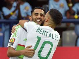 Mahrez was the main man for his national team. GOAL