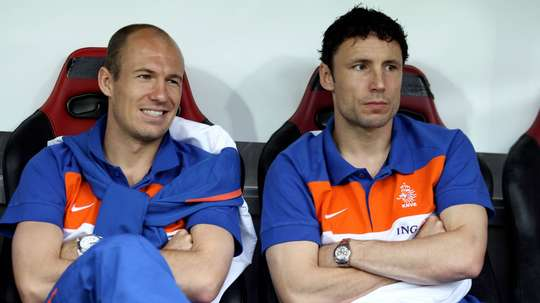 Van Bommel says that Robben's Holland career deserved a better ending. GOAL