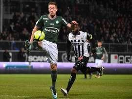 Beric, buteur face à Angers. Goal